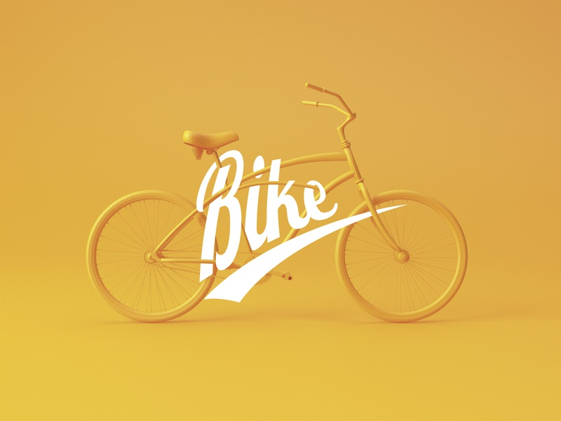 Bike shop | Logo design type logofont logotype corporate brand identity corporate branding clean design 3d design brand and identity identity branding dribbble 3ddesign 3d brand minimal branding illustration vector minimal logo