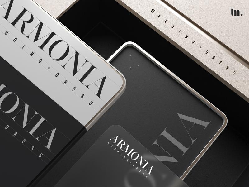 Armonia | Corporate identity corporate brand identity minimal 3d brand and identity branding typography minimal branding brand logo identity