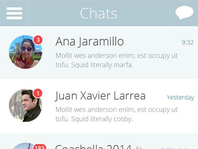 Whatsapp redesign (update)