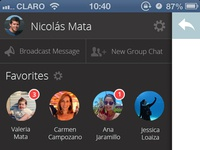 Whatsapp Redesign - Sidebar