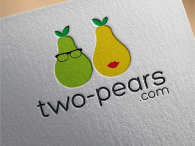 two pears.com Logo