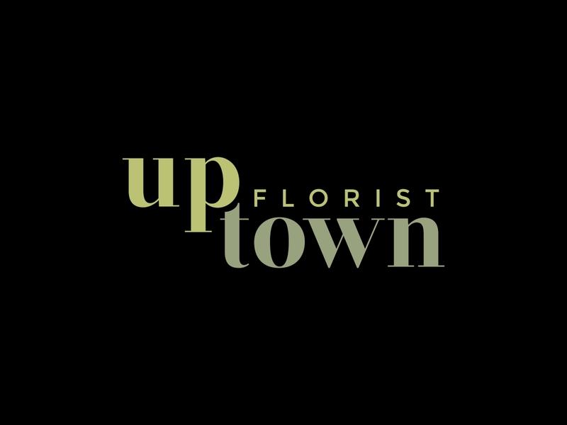 Uptown Florist Logo