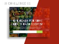 UI Challenge 01 - Sign up