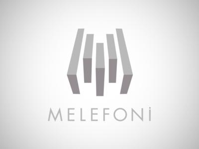 Melefoni Logo accessory iphone i-phone device phone mobile phone accessories melefoni visual identity logo design branding logo identity visual brand