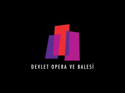 State Opera and Ballet   architectural architecture state opera brand opera ballet play identity logo stationary visual design corporate branding