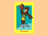 Teen Wolf Dribbble Shot