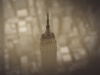 Empire State Building motion graphic motion designer fog compositing motion design motion animation after effects