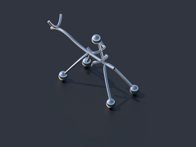 Metal Sculpture cinema camera motion design after effects motion 3d animation cinema 4d cinema4d