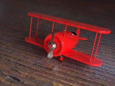 3D Plane 3d toys 3d plane octane render octanerender octane cinema4d 3d modeling 3d cinema 4d