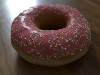 3D Donut cinema4d octane render cinema 4d 3d art 3d assets