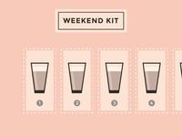 Realistic Weekend Kit