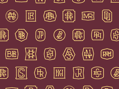 Monograms -- the full set!