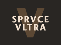 SPRVCE VLTRA Beer Label