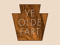 Ye Olde Fart Brewery, Logo 1