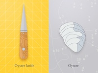 Oyster & knife (wip)