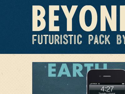 Beyond Earth Futuristic Pack illustration planet planets wallpaper ipad iphone desktop website