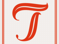 """Daily Letter Project, """"T"""""""