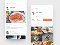 #Exploration | Footagram Food App