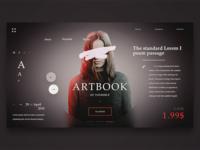 Artbook Webpage