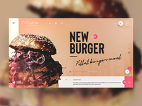 Delivery landing page
