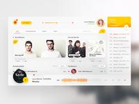 Yandex Music redesign