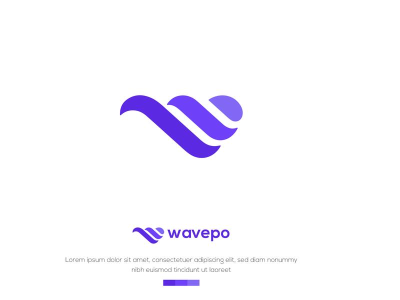 W Letter logo w logo logodesign web design typography ux vector ui identity lettering logo design branding brand website wave w letter
