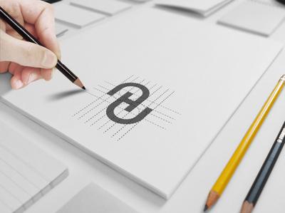 H letter brand logo mark