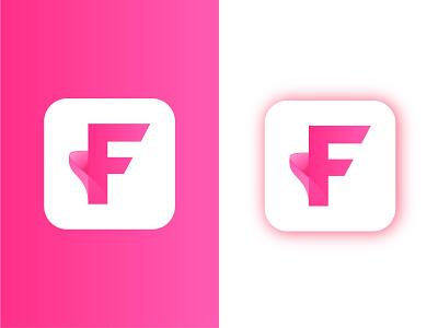 F logo  Modern logo fashion food f monogram lettering brand logo branding f letter logo best logo design best logo 2021 logo designer health logo tech logo company minimal pink logo f mark modern logo f modern f logo