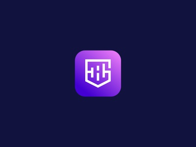 GH logo app logo app icon vector ui illustration icon minimal design lettering brand logo branding tech logo tech logo gh logo