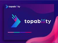 Topability logo design