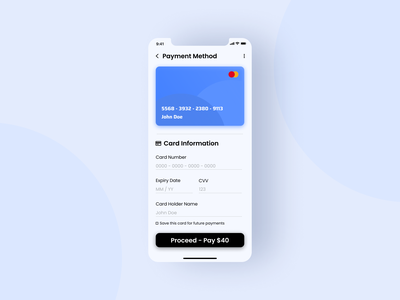 Daily UI #002 - Credit Card Check out app ux uidesign ui design credit card creditcard ui dailyui design