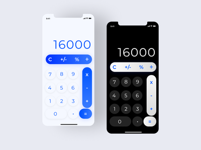 Daily UI #004 - Calculator Design design calculator app calculator ui calculator ui design uidesign ui dailyui