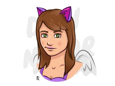 Dami illustrator illustration