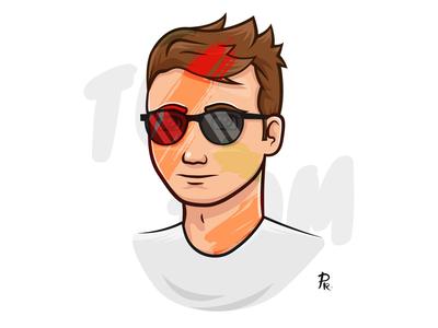 Tom illustrator illustration