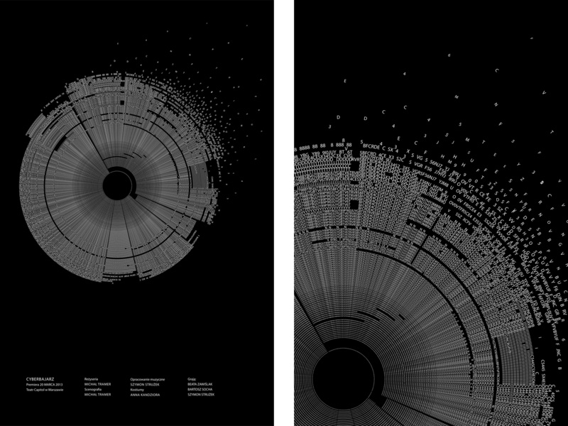 Neutron typographic poster Stanisław Lem modern cosmos letters multiplication typography typographic poster poster poster art design vector black and white