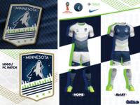 Minnesota Timberwolves World Cup Kit