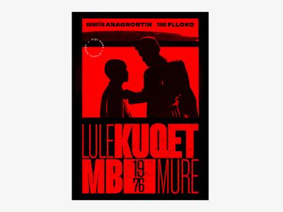 """Albanian Cinematography """"LULEKUQET MBI MURE"""" 1976"""