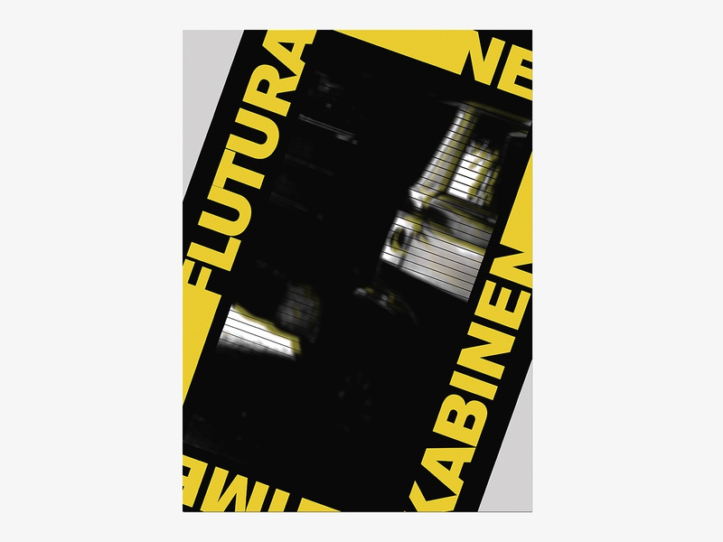 "Albanian Cinematography ""FLUTURA NE KABINEN TIME"" 1988 art type art swissposter swiss style type poster design poster a day poster art poster typography dribbble graphic desgin graphic design"