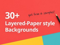 Layered-Paper style backgrounds
