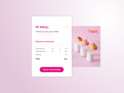 Email Receipt daily ui 017