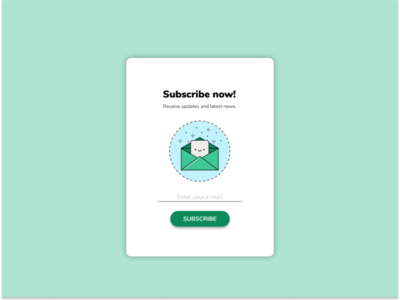 Subscribe daily ui 026