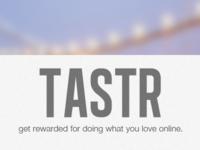 Tastr Landing
