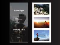 Travel Mobile App Ui