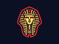 Pharaoh Mascot Logo, for sale.
