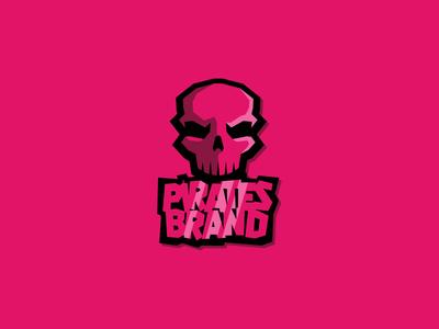 Pirates Smoke scalp head cranium zombie pink skull