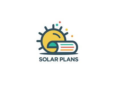 Solar Plans renewable energy solar panels permit file sheet paper sun