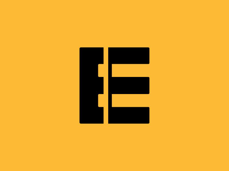 E Train Rails minimal simple tracks railroad railway modern negative space rails train eletter