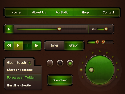 Game UI Kit @GraphicRiver by PavitraST on Dribbble