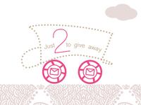 2 invite giveaways