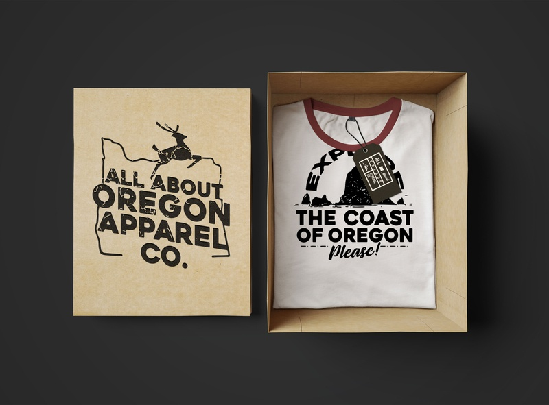 All About Oregon Apparel Co.  Vol. 1